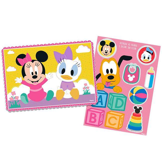 Kit Decorativo Baby Disney Minnie