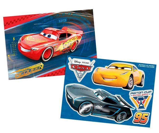Kit Decorativo Carros 3