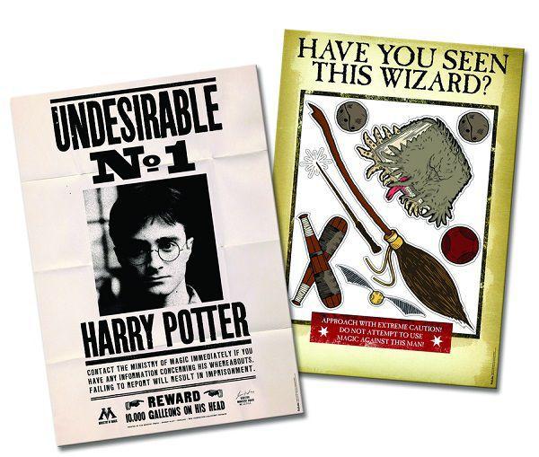 Kit Decorativo Harry Potter
