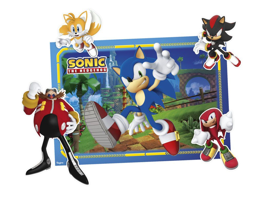 Kit Decorativo Sonic c/07 peças