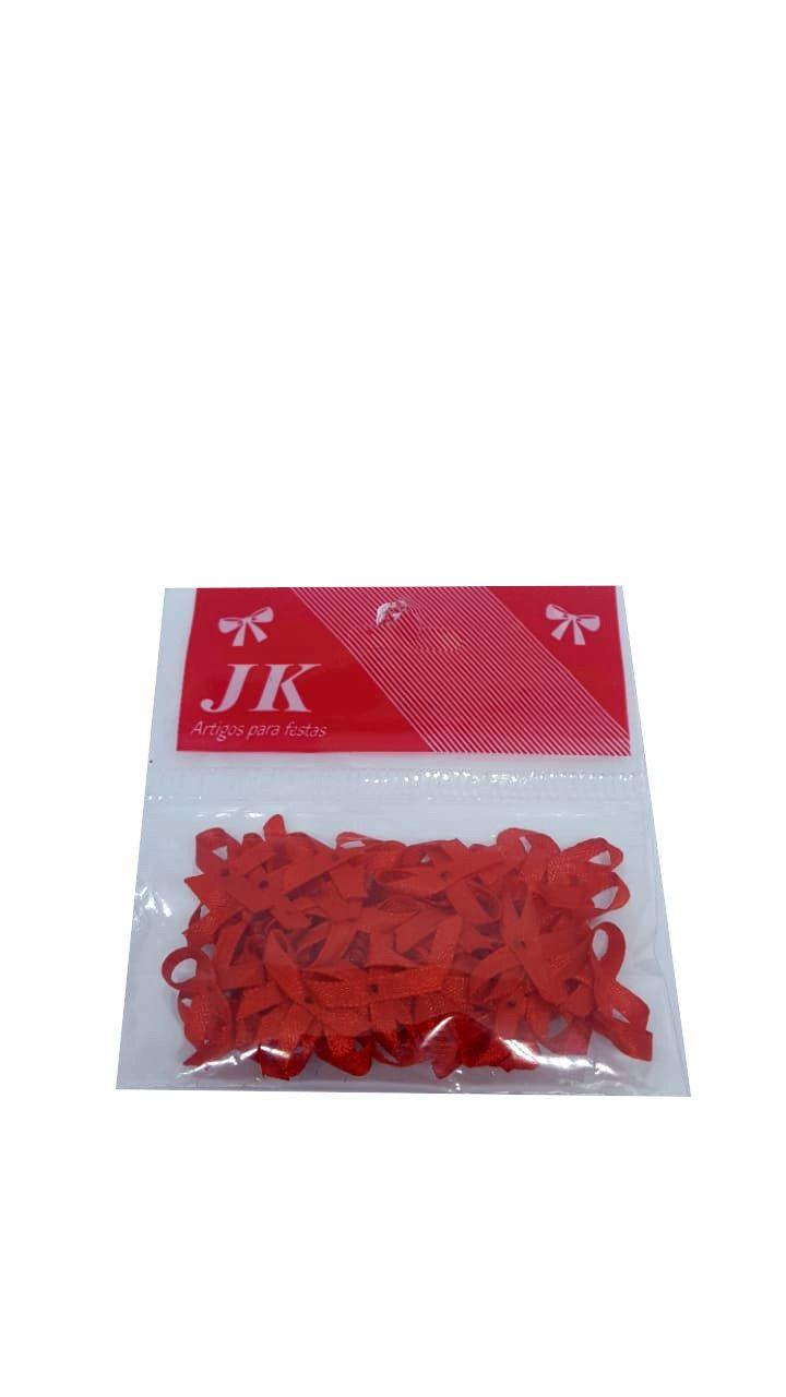 Laço Cetim Vermelho 00 c/50 unidades