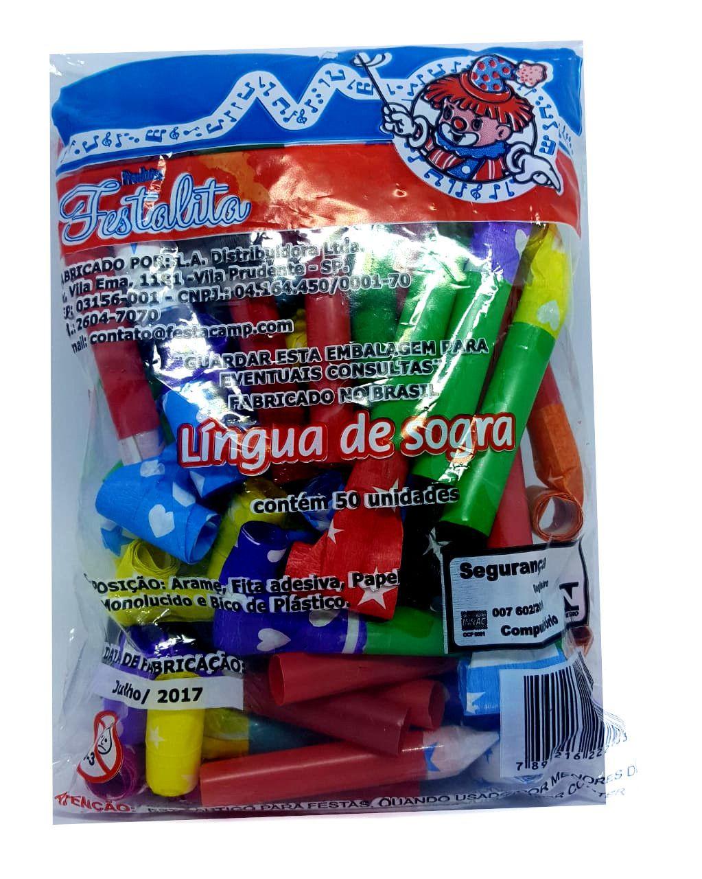 Língua de Sogra c/50 unidades