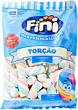 Marshmallow Torção Colorido 250g