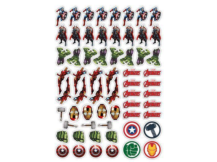 Mini Personagem Avengers Animated c/62 unidades