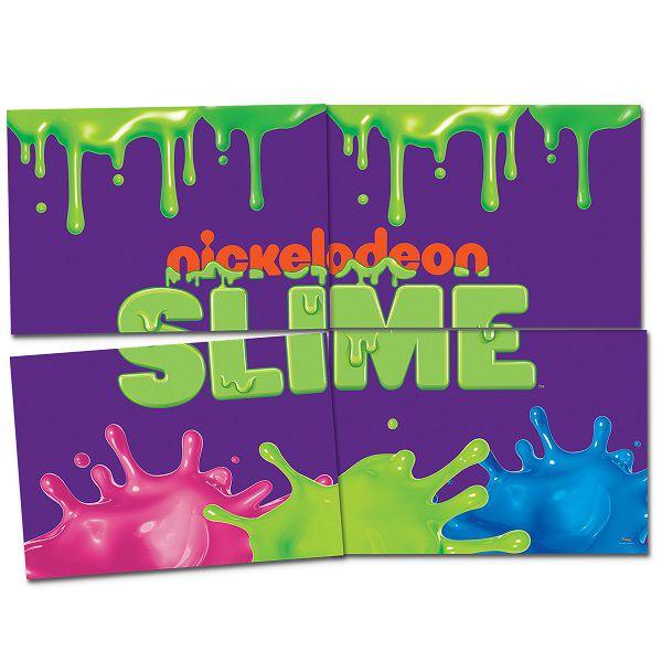 Painel 4 Laminas Slime