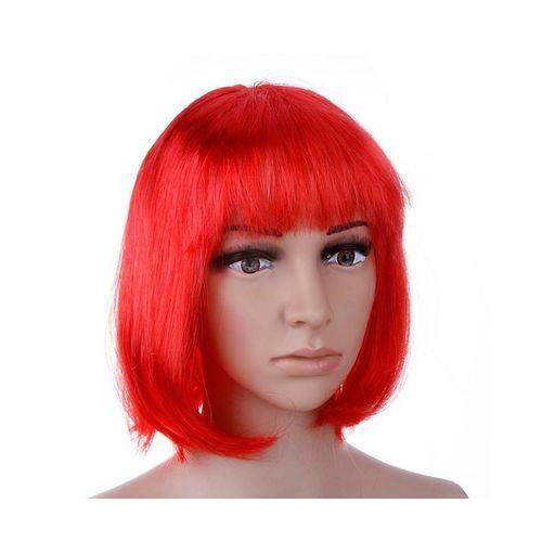 Peruca Chanel Vermelha - unidade