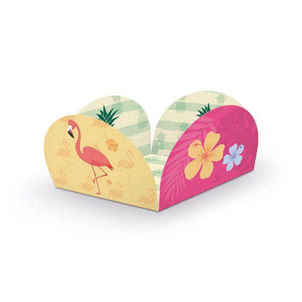 Porta Forminha Flamingo c/40 unidades