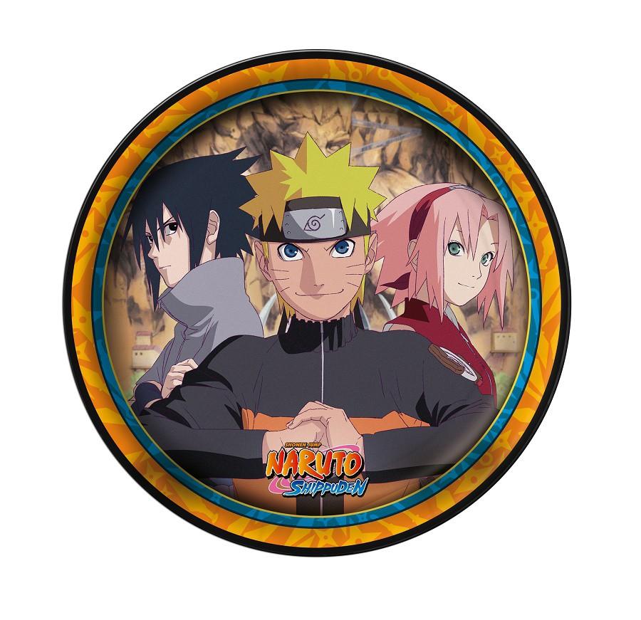 Prato de Papel Naruto c/08 unidades