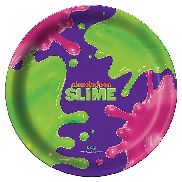 Prato Decorado Slime c/08 unidades