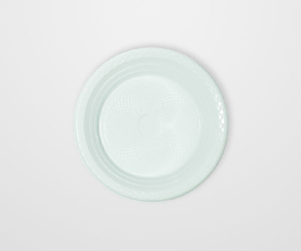 Prato Forfest Branco 15 cm c/10 unidades