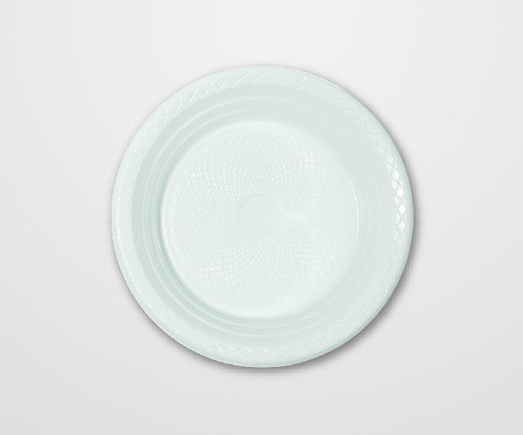 Prato Forfest Branco 18 cm c/10 unidades