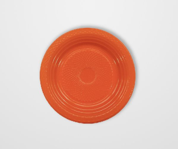 Prato Forfest Laranja 15 cm c/10 unidades