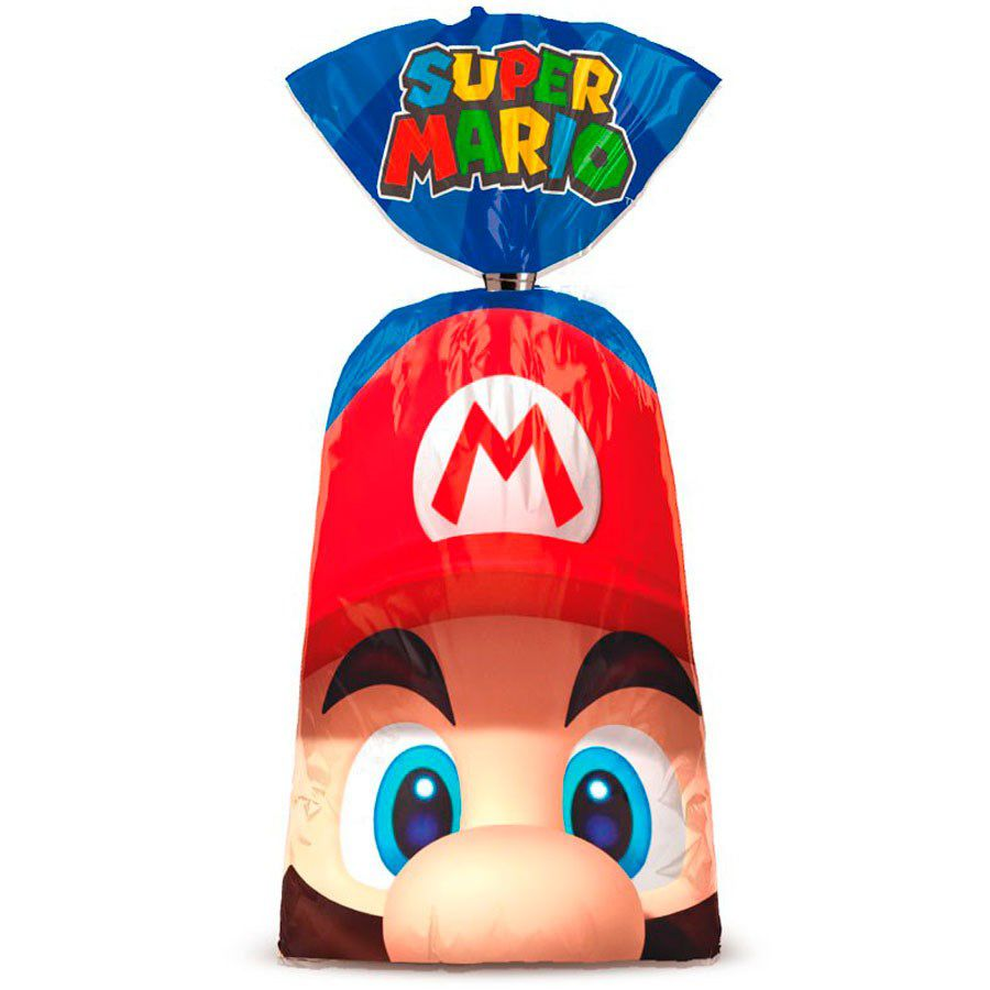 Sacola Surpresa Super Mario c/08 unidades