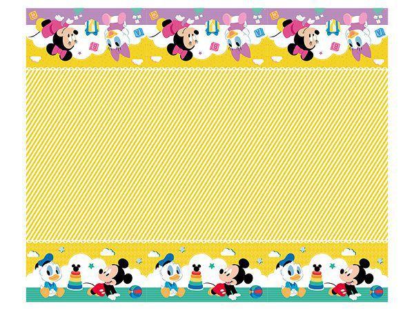 Toalha de Mesa Baby Disney 2,20 m x 1,20 m