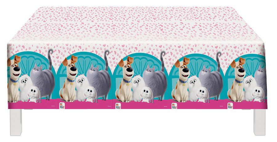 Toalha de Mesa Pets 2 1,20 m x 1,80 m