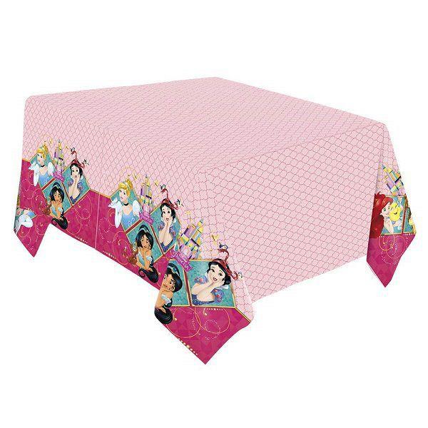 Toalha de Mesa Princesas 2,20 m x 1,20 m