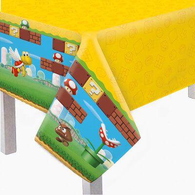 Toalha de Mesa Principal Super Mario 1,18 m x 1,80 m