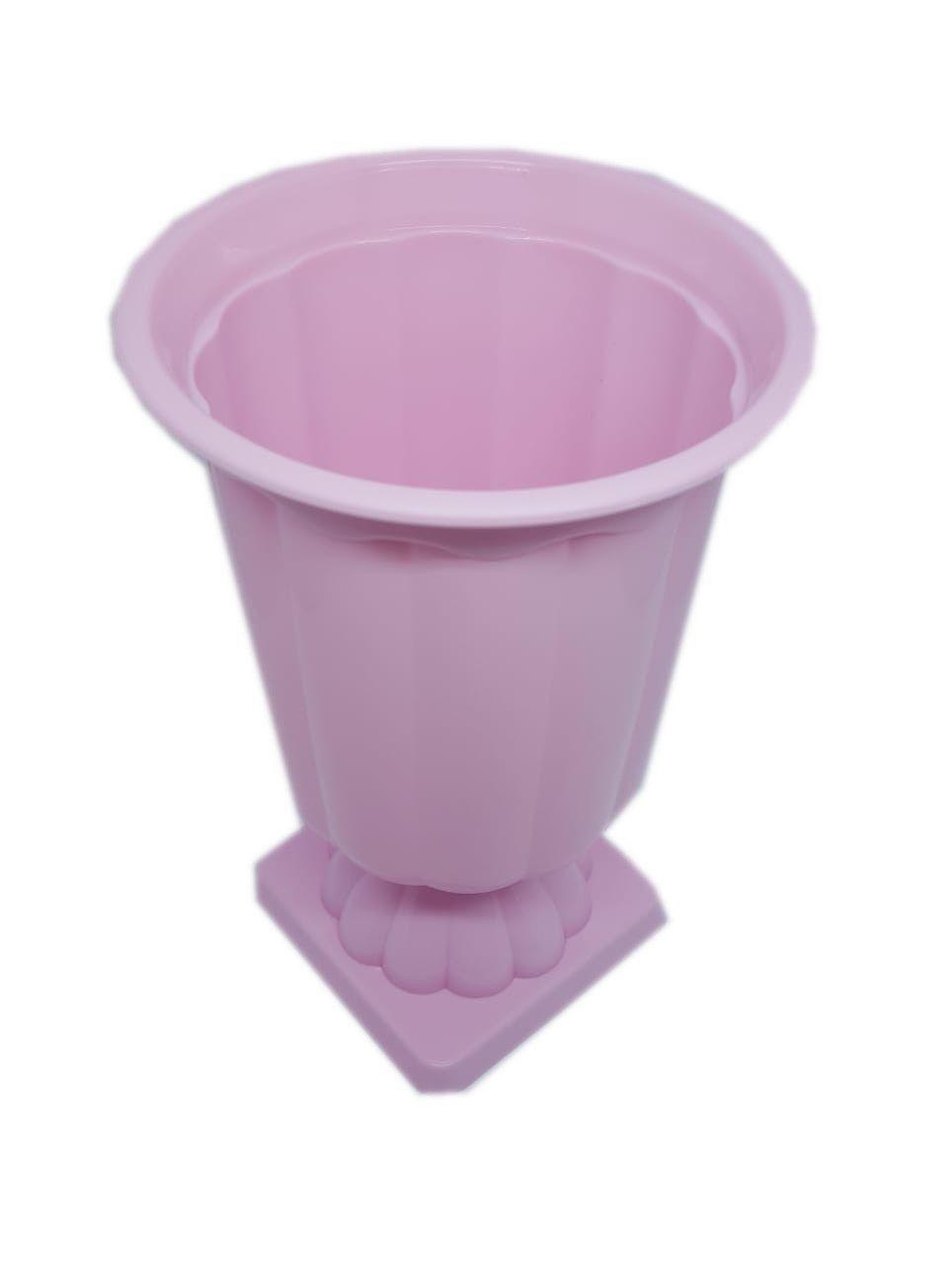 Vaso Grego Rosa Bebê 12,5 cm x 19 cm