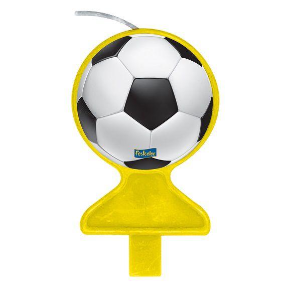 Vela Decorada Apaixonados Por Futebol