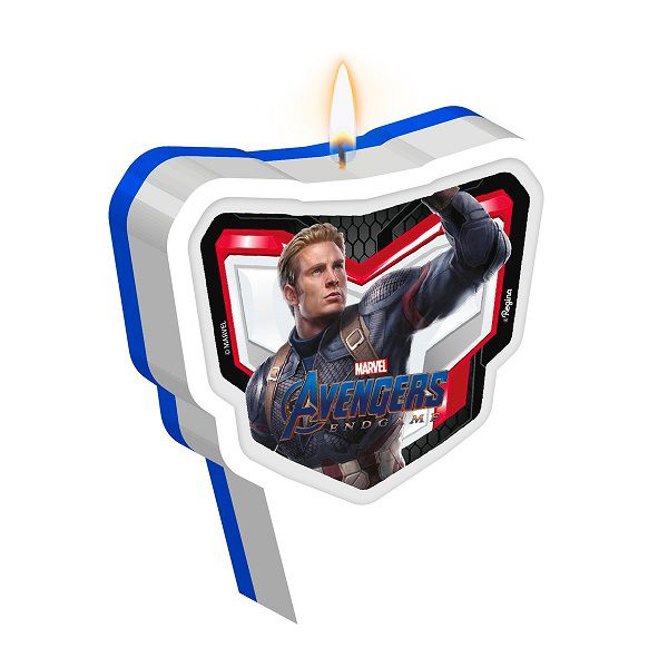 Vela Decorada Avengers 4
