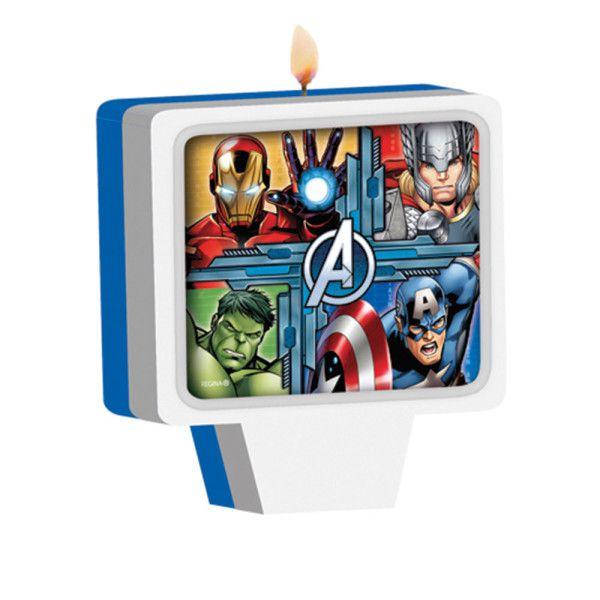 Vela Decorada Avengers Animated