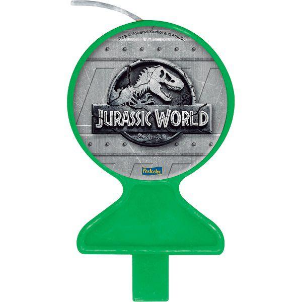 Vela Decorada Jurassic World