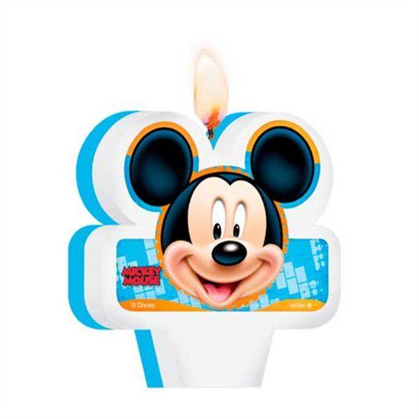 Vela Decorada Mickey Diversão