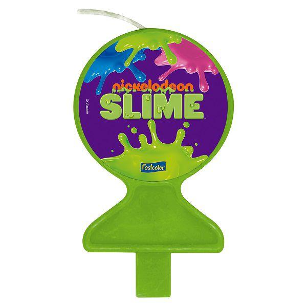 Vela Decorada Slime