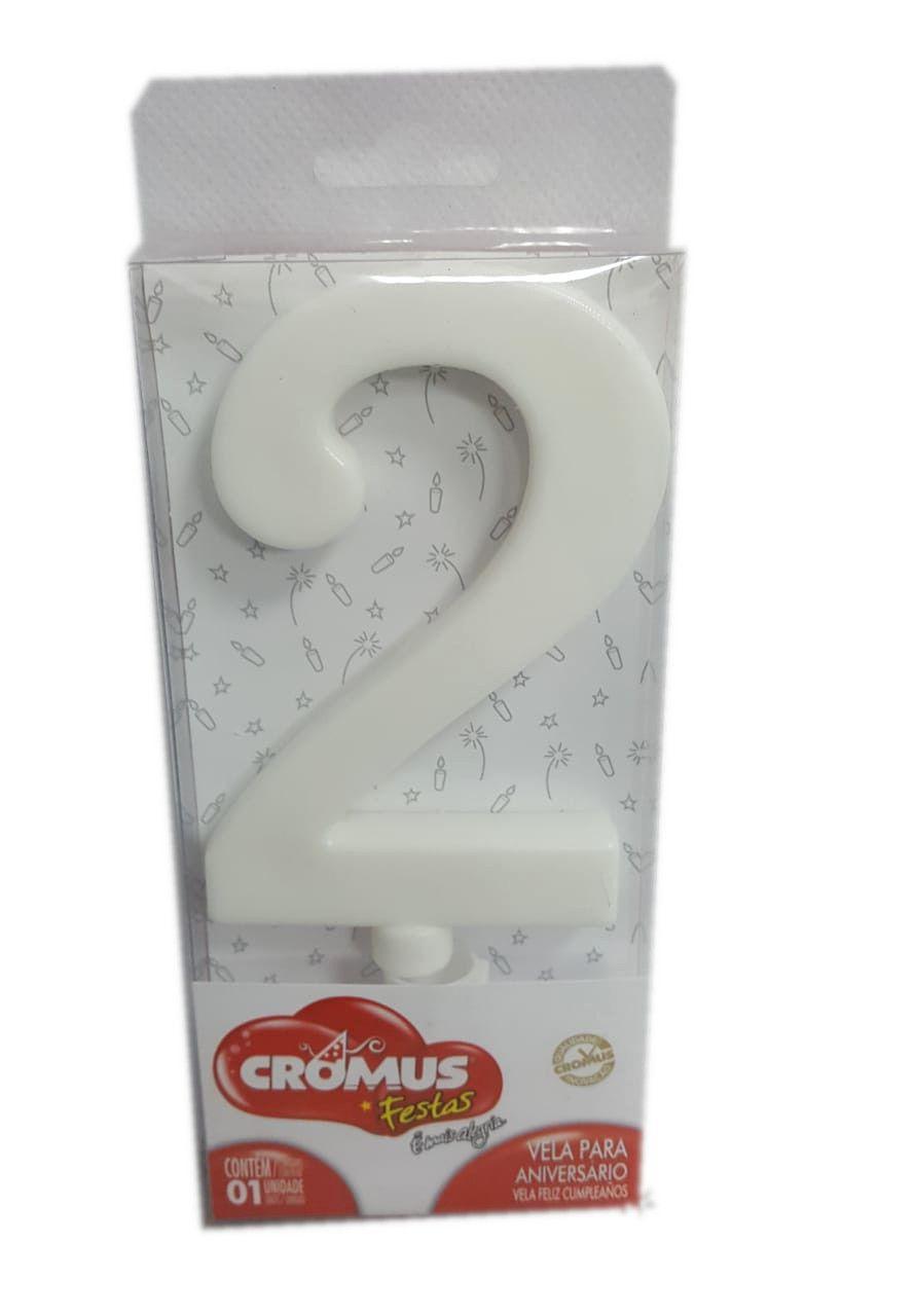 Vela Grande Cromus Branca Nº 2 - unidade