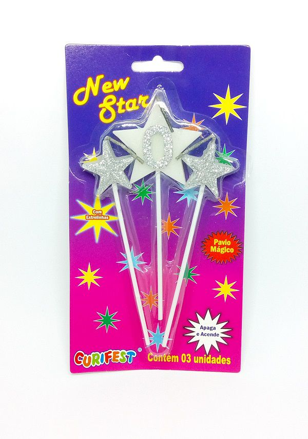Vela New Star Número 0