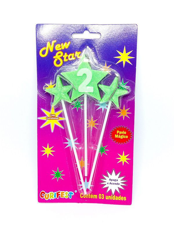 Vela New Star Número 2
