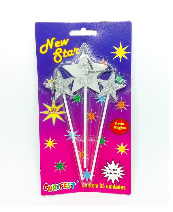 Vela New Star Número 3