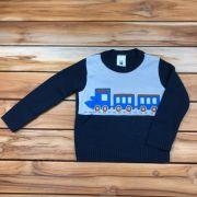 Blusa Trico kids Azul