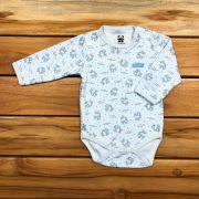 Body Baby Longo Azul