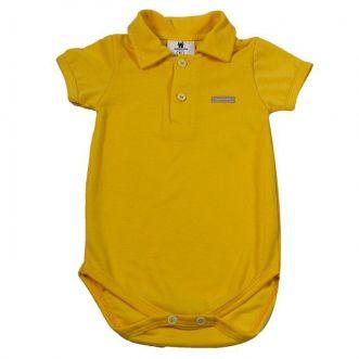 Body Curto bebê Amarelo