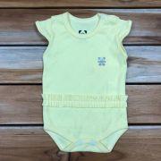 Body Curto Baby Amarelo