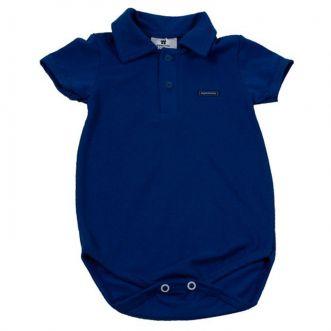 Body Curto bebê Azul