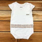 Body Curto Baby Branco