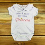 Body Curto Baby Lilas Princesa
