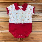 Body Curto Baby Vermelho