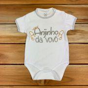 Body Curto Comemorativo Baby Branco