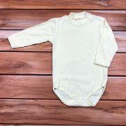 Body longo Baby Amarelo