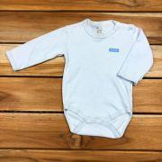Body Longo Baby Azul