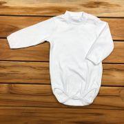 Body Longo Baby Branco Neutro