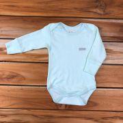 Body Longo Baby Verde Neutro