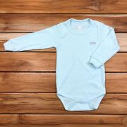Body Longo Kids Verde Neutro