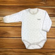 Body Longo Neutro Baby Branco