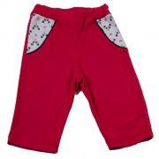 Calça Baby Vermelha