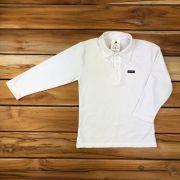 Camisa Polo Kids Branca