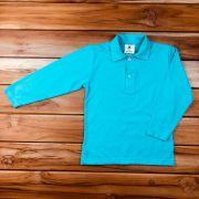 Camisa Polo Longa Verde